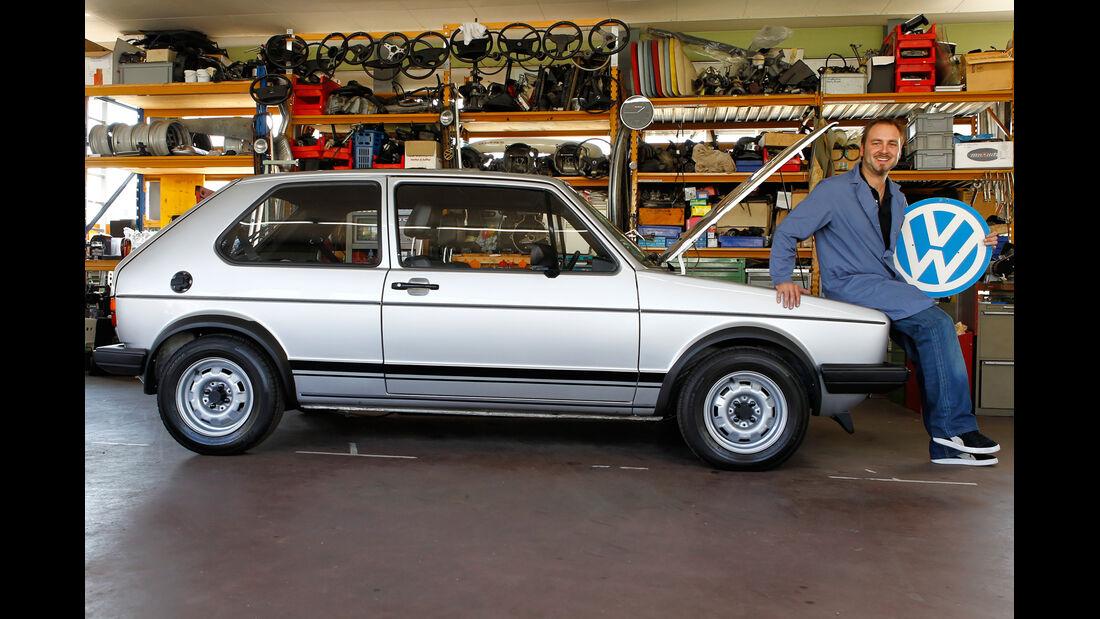 VW Golf I GTI, Seitenansicht