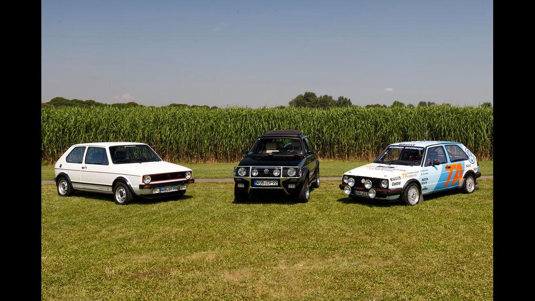 VW Golf I / Golf II, Modelle