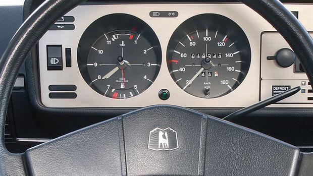 VW Golf I Instrumente Cockpit Schaltpunktanzeige