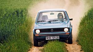 VW Golf I LS (1974) erster Test auto motor und sport 16/1974