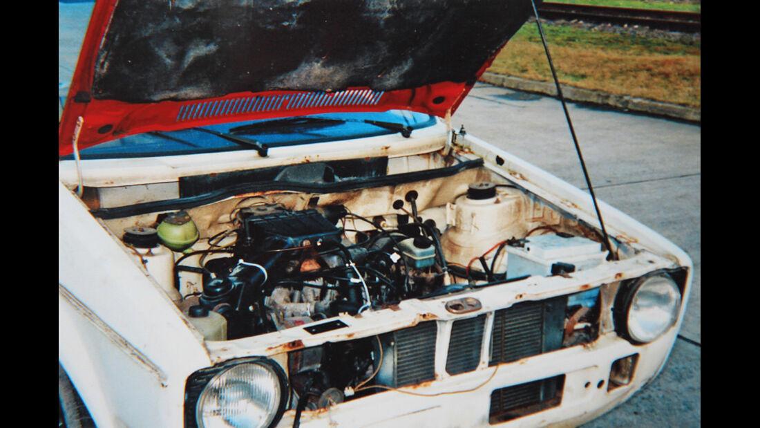 VW Golf I LX, Motor