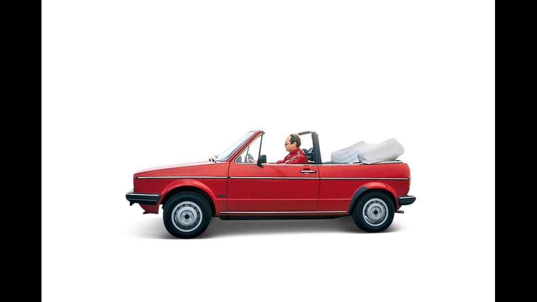 VW Golf I, Seitenansicht