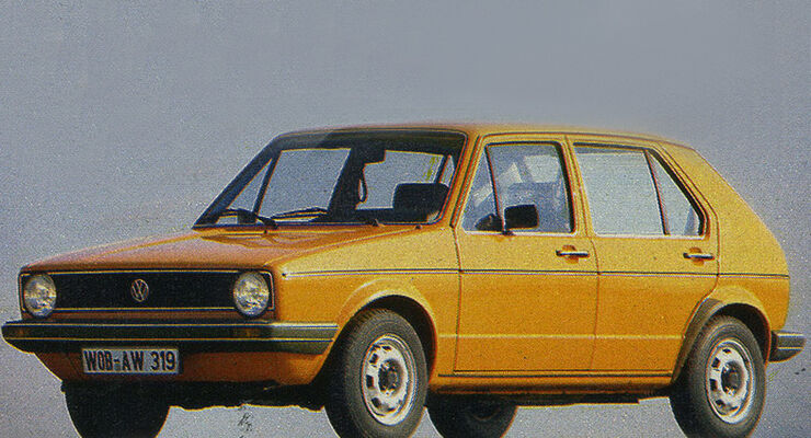 VW, Golf, IAA 1981