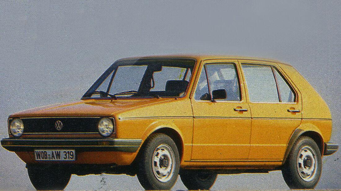 VW, Golf, IAA 1981