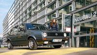 VW Golf II, Frontansicht