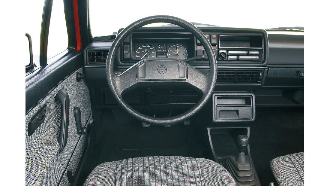 VW Golf II Innenraum Cockpit