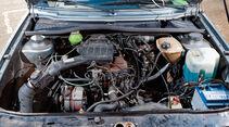 VW Golf II, Motor