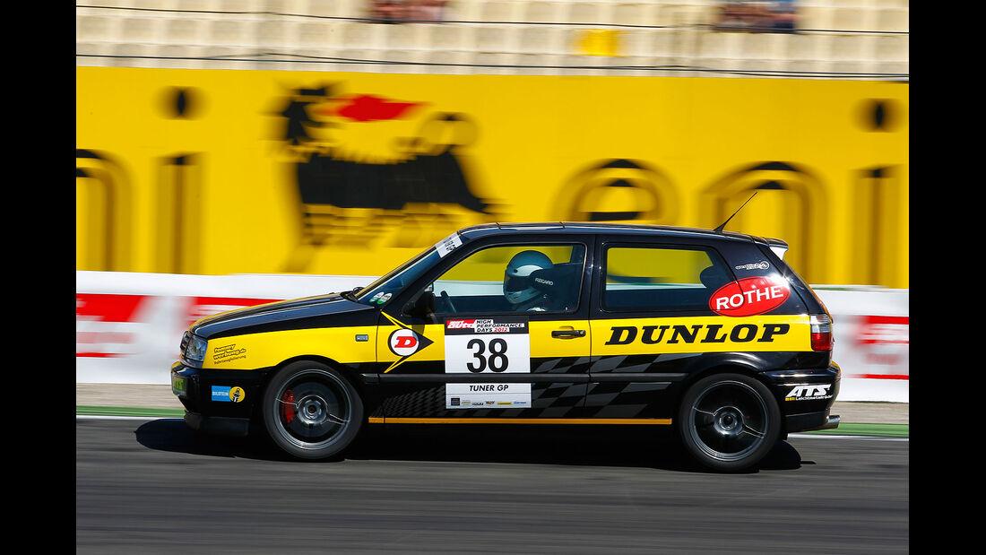 VW Golf III 1.8 T, TunerGP 2012, High Performance Days 2012, Hockenheimring