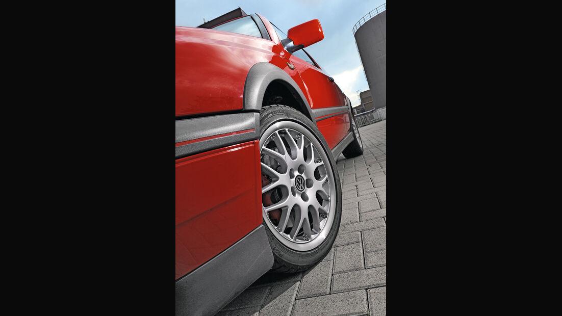 VW Golf III GTI, Vorderrad