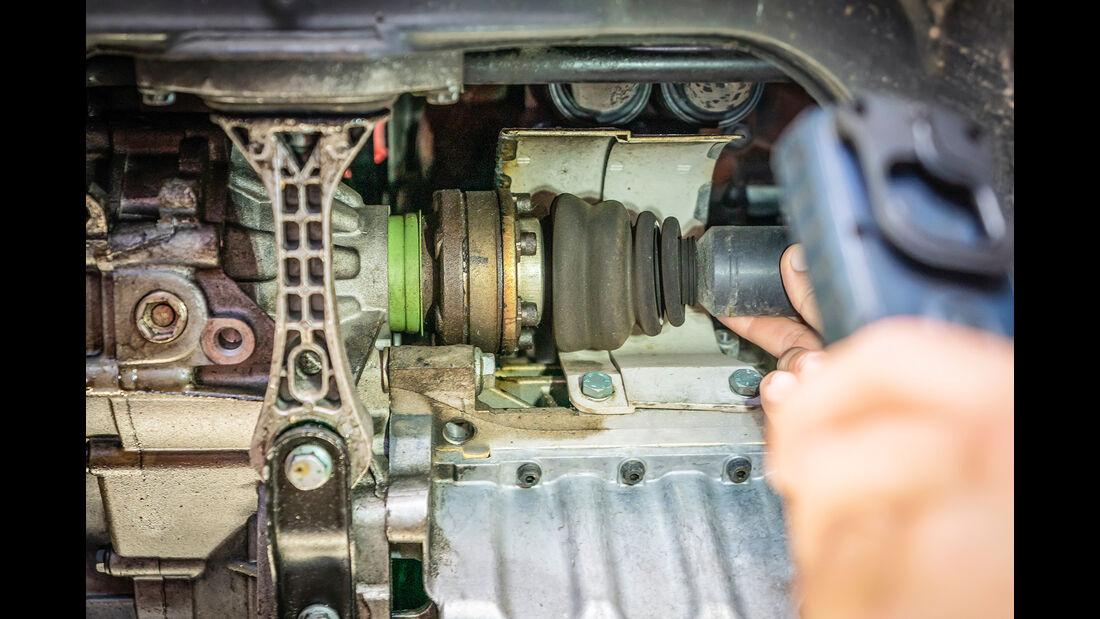 VW Golf IV, Antrieb