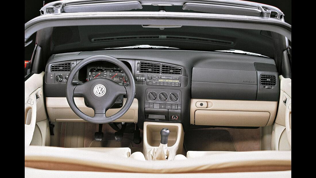 VW Golf IV, Kaufberatung, Interieur