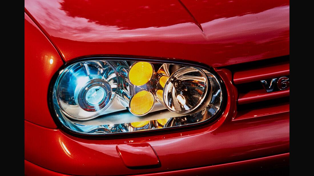 VW Golf IV, Kaufberatung, Schweinwerfer
