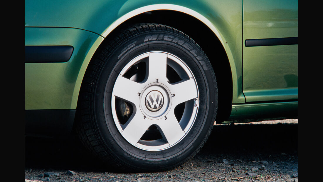 VW Golf IV, Kaufberatung, Vorderrad