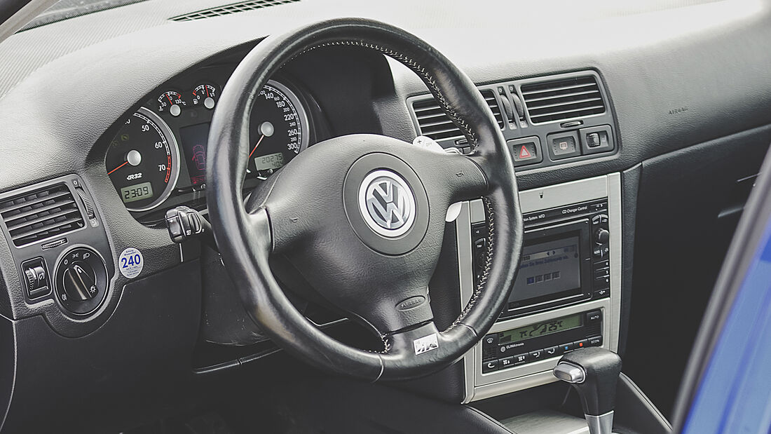 VW Golf IV R32, Interieur