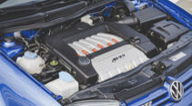 VW Golf IV R32, Motorraum