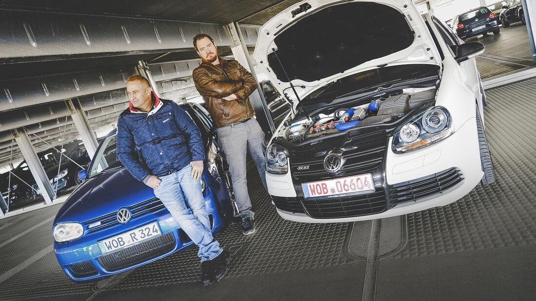 VW Golf IV R32, VW Golf V R32, Exterieur