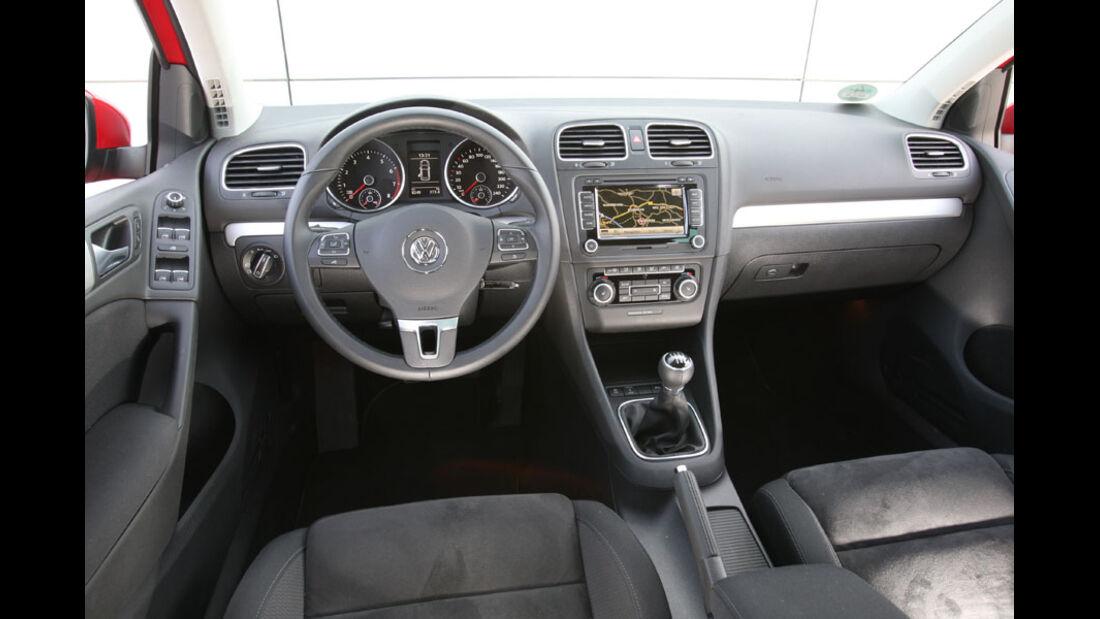 VW Golf, Innenraum,Cockpit