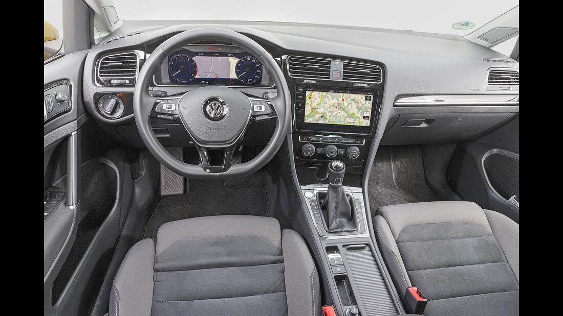 VW Golf, Interieur