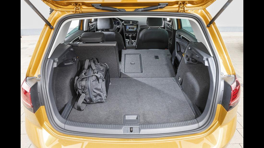 VW Golf, Interieur Kofferraum