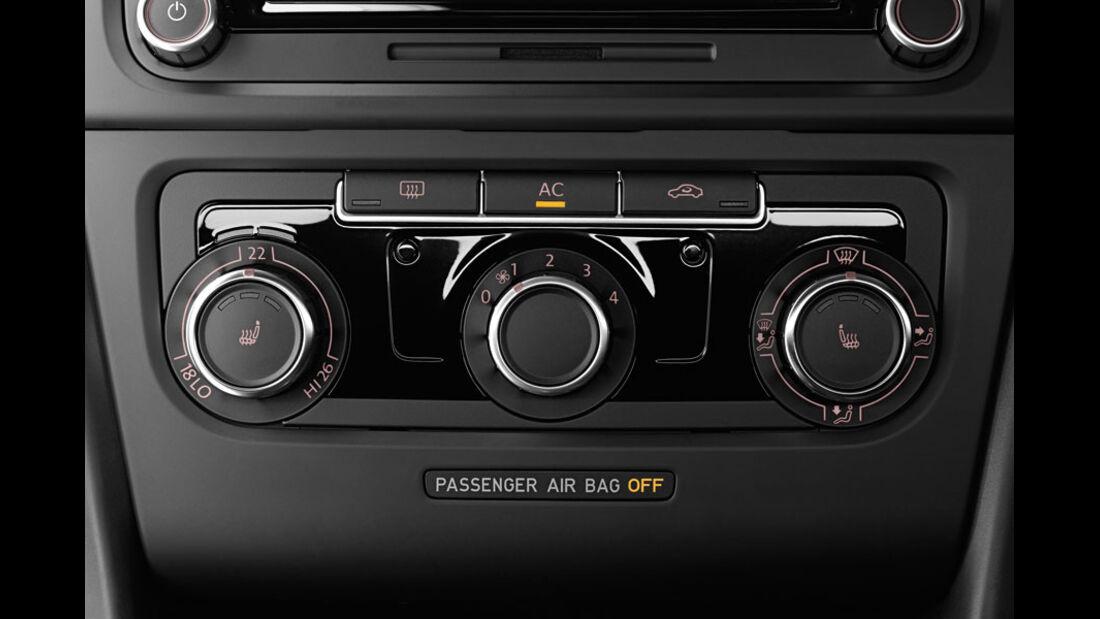 VW Golf, Klimaanlage