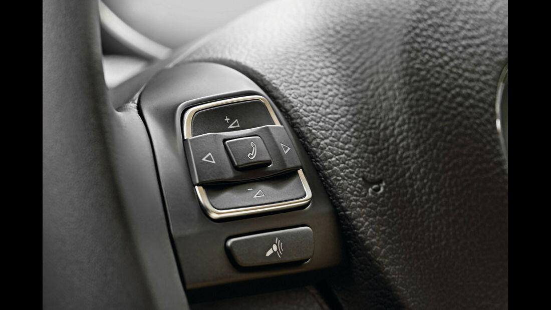 VW Golf, Multifunktionslenkrad
