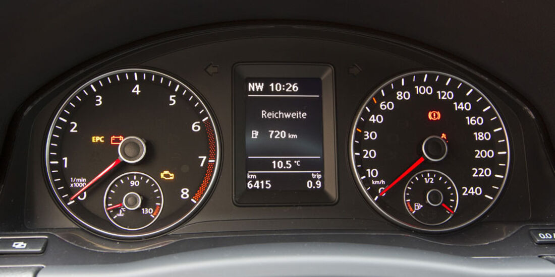 VW Golf Plus 1.2 TSI Armaturen