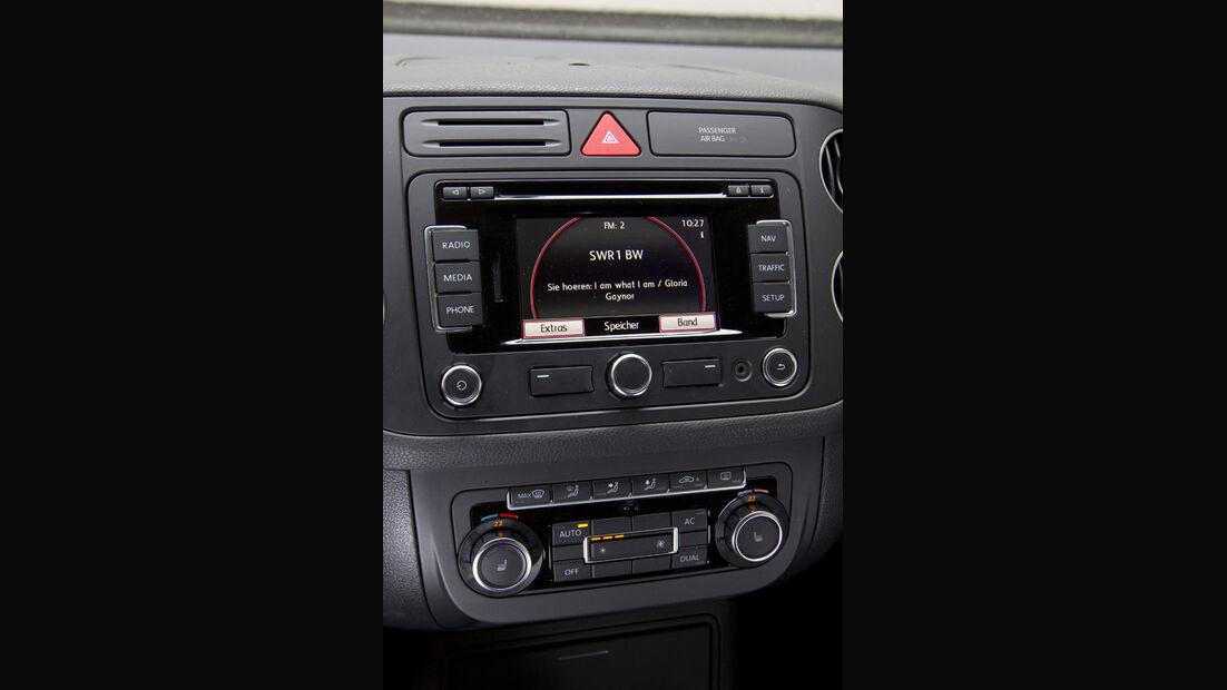VW Golf Plus 1.2 TSI Mittelkonsole