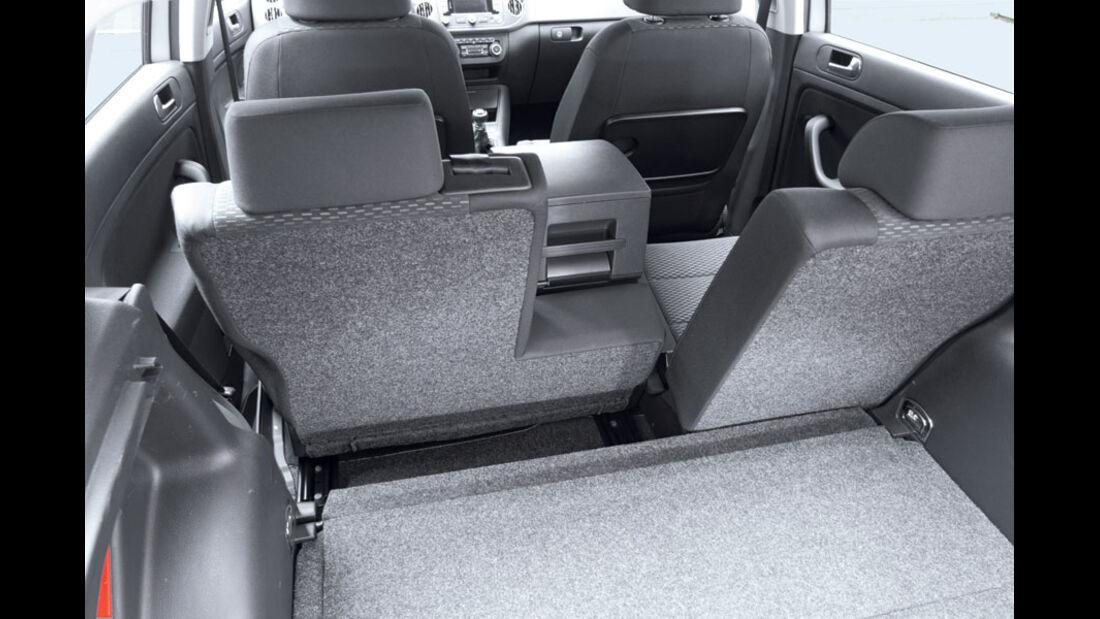 VW Golf Plus 1.2 TSI Rückbank