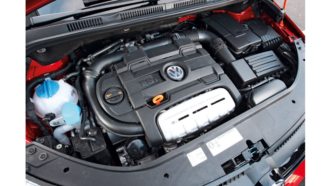 VW Golf Plus 1.4 TSI, Motor