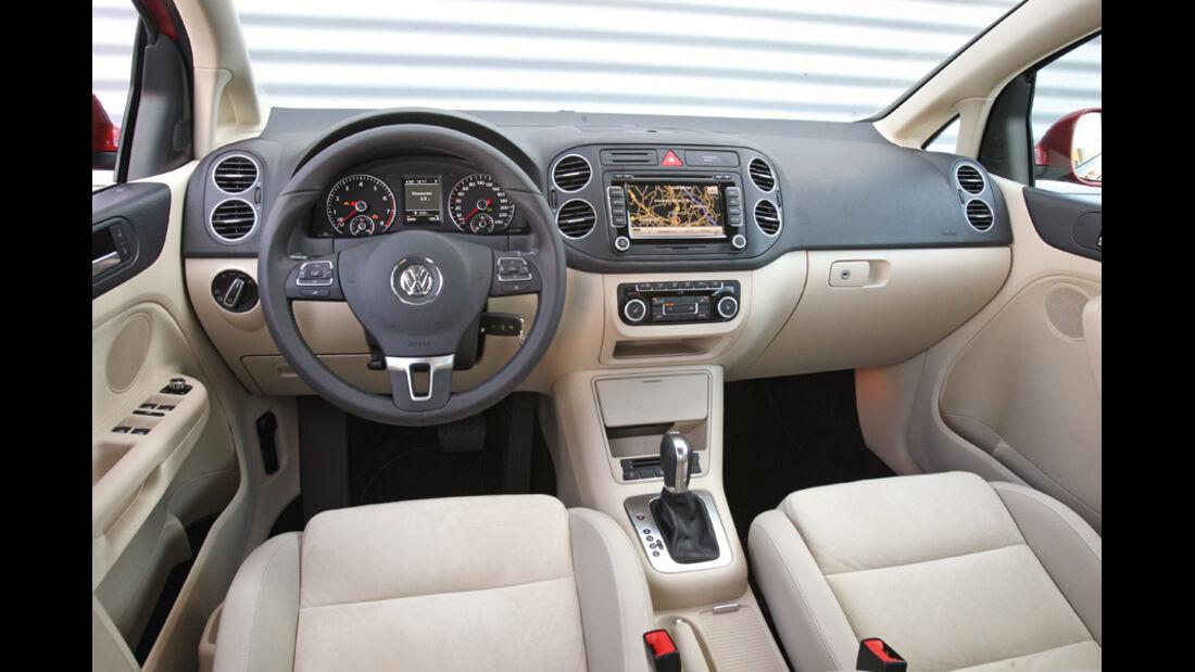 VW Golf Plus 1.4TSI, Cockpit