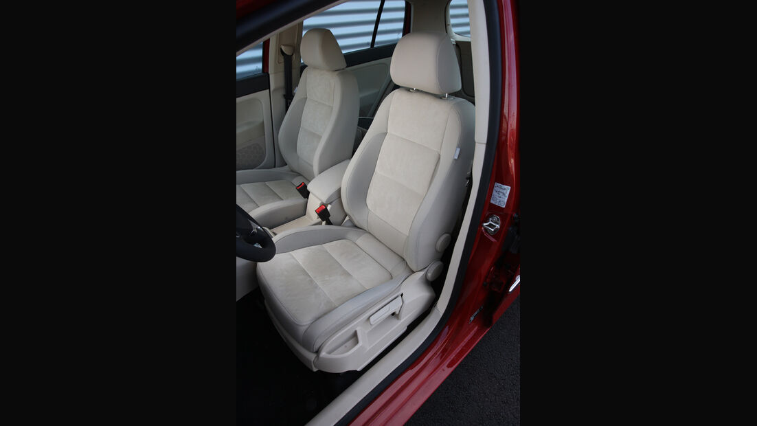 VW Golf Plus 1.4TSI, Sitze