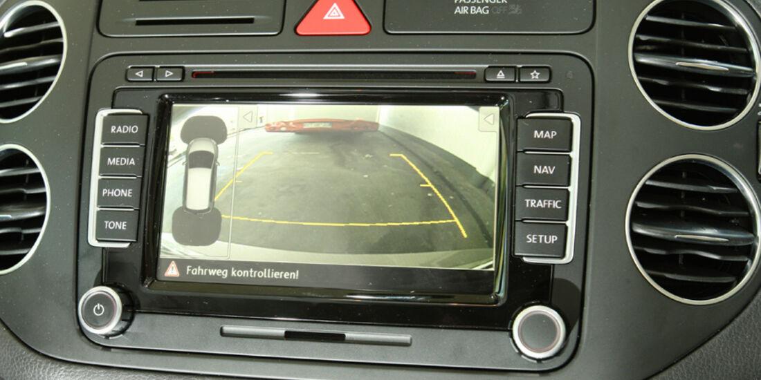 VW Golf Plus 1.6 TDI BMT, Bildschirm