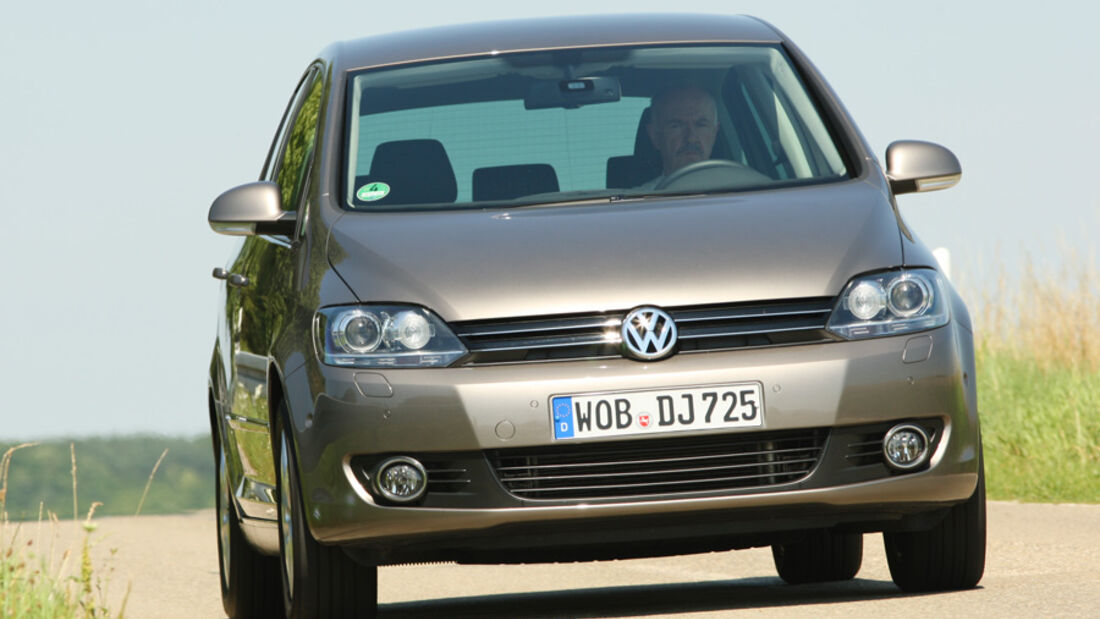 VW Golf Plus 1.6 TDI BMT, Front, Frontansicht
