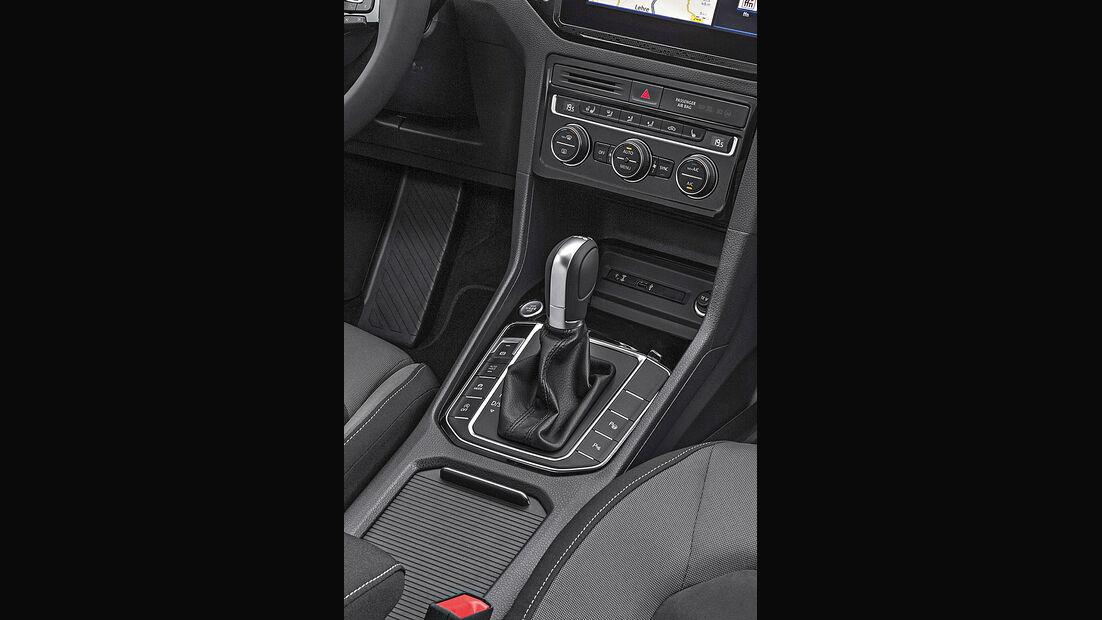 VW Golf Plus, Interieur