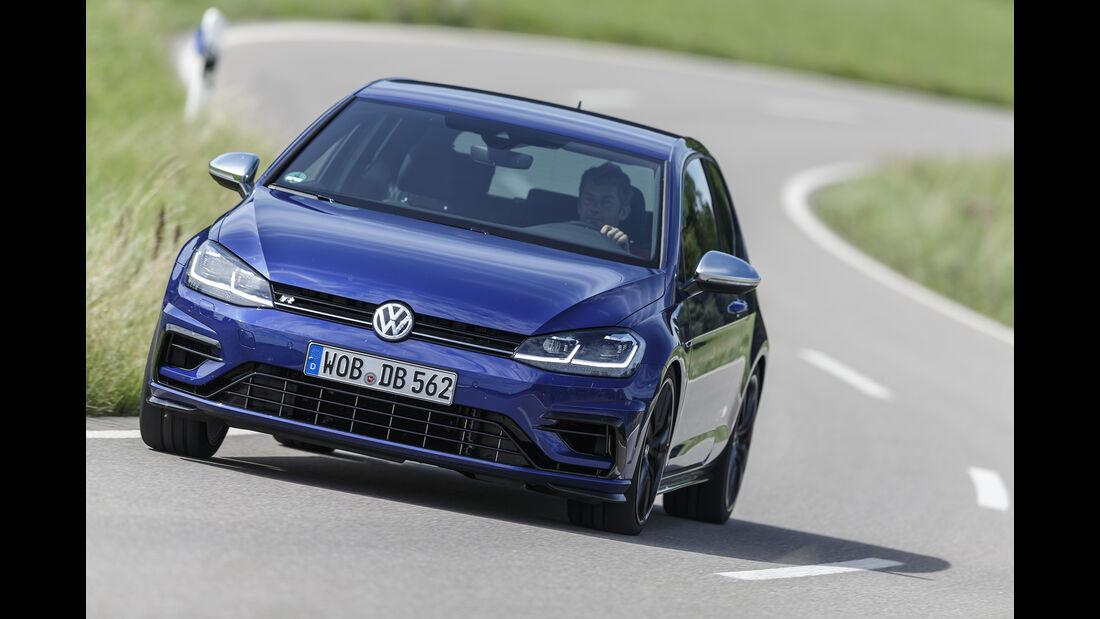 VW Golf R 2.0 TSI 4 Motion, Exterieur Front