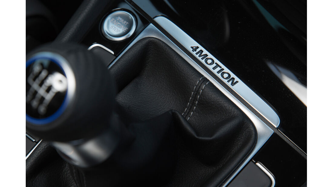 VW Golf R, 4Motion, Schalthebel