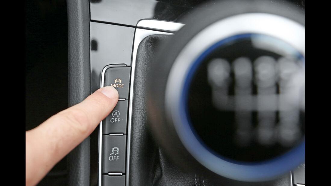 VW Golf R, Anzeigeinstrument