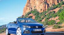 VW Golf R Cabriolet, Frontansicht