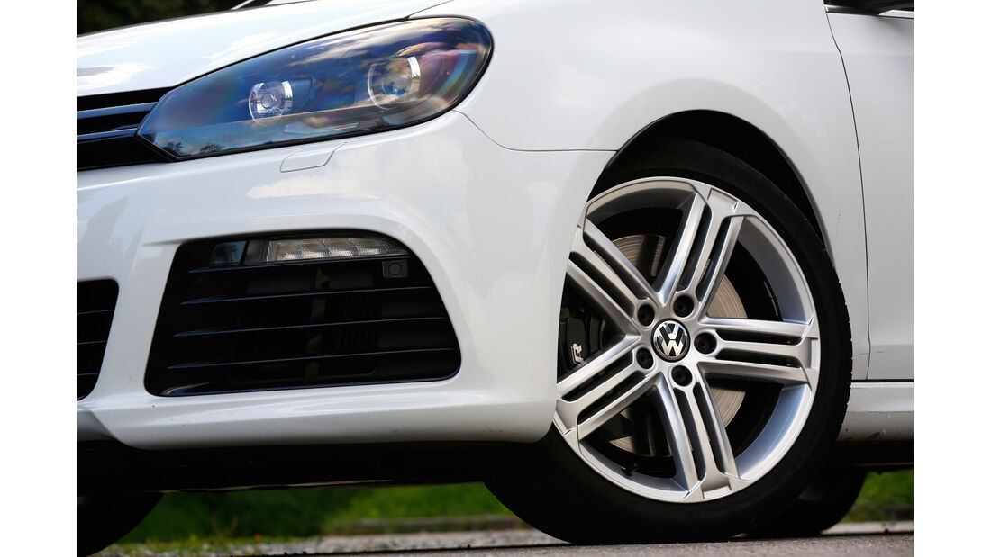 VW Golf R Cabriolet, Rad, Felge, Bremse