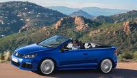 VW Golf R Cabriolet, Seitenansicht