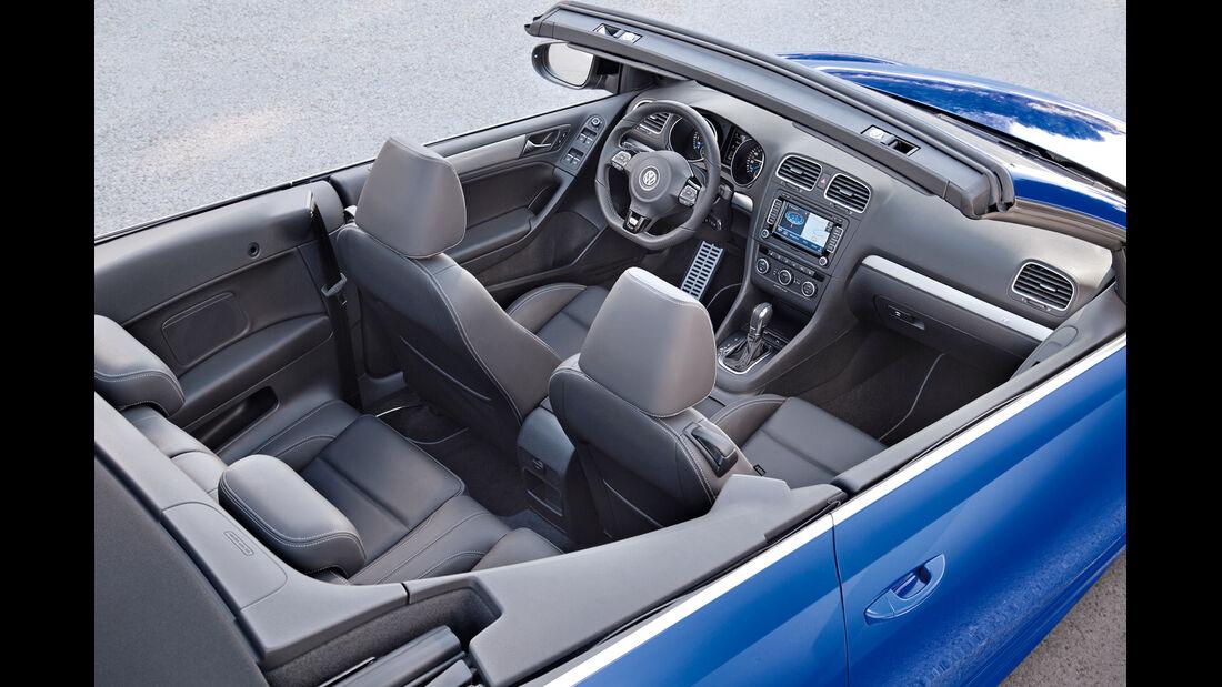 VW Golf R Cabriolet, Sitze, Interieur