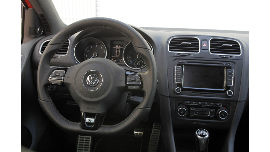 VW Golf R, Cockpit