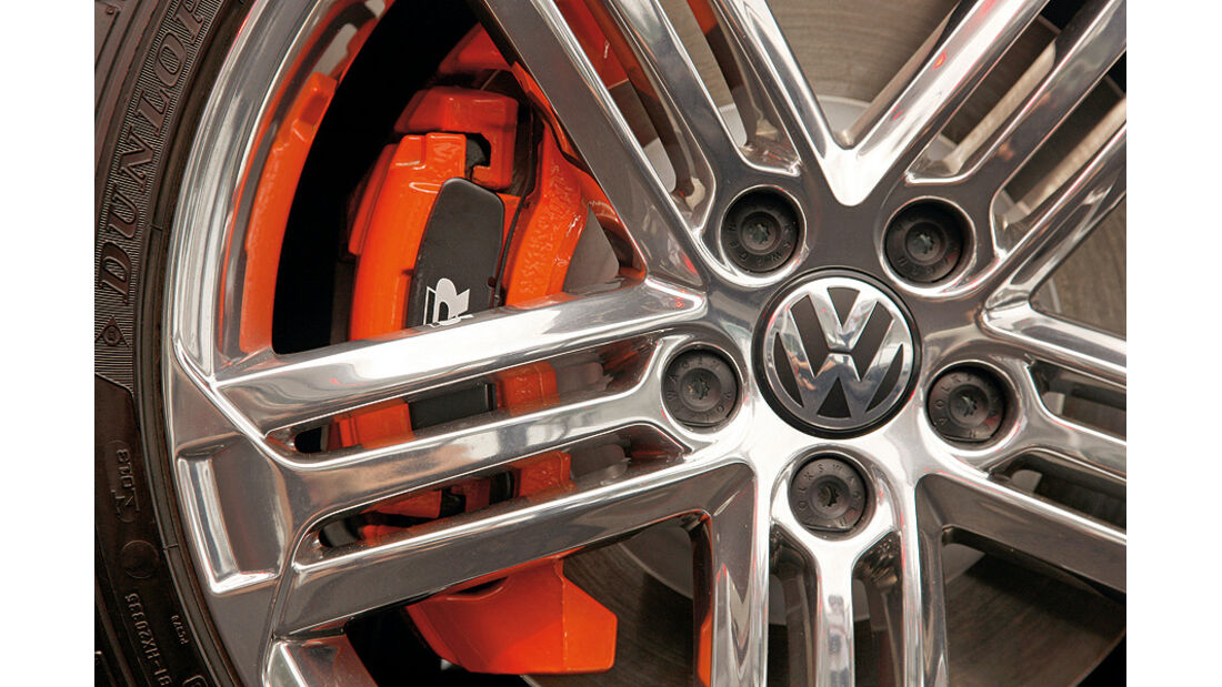 VW Golf R Color Concept Wörthersee, Bremsanlage