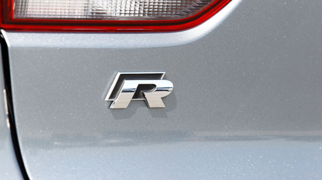 VW Golf R, Detail