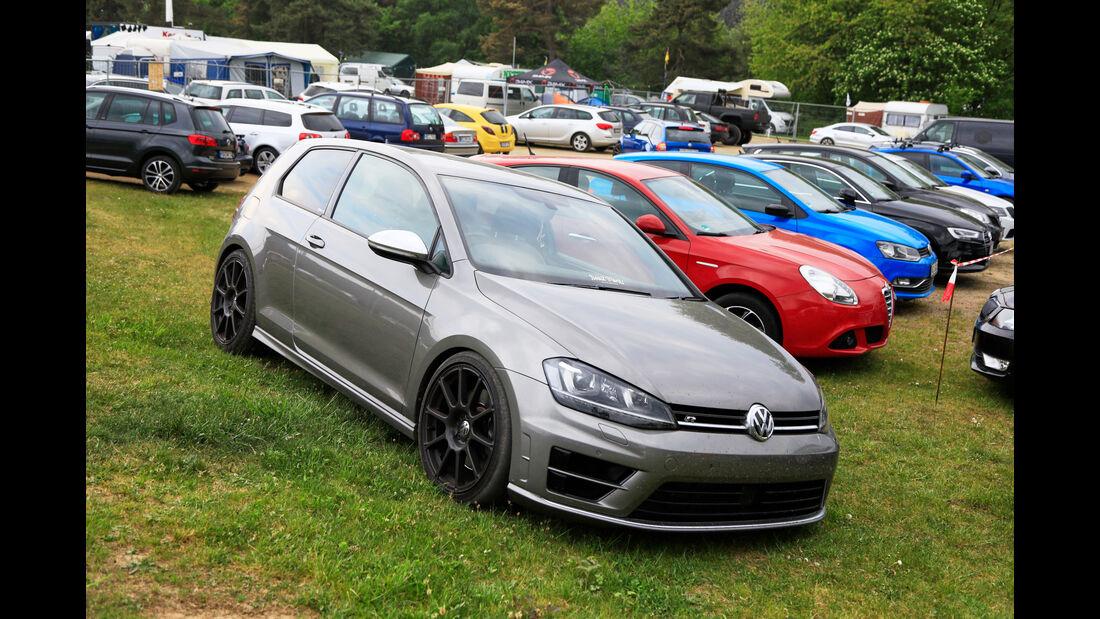 VW Golf R - Fan-Autos - 24h-Rennen Nürburgring 2018 - Nordschleife