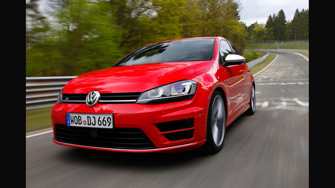 VW Golf R, Frontansicht