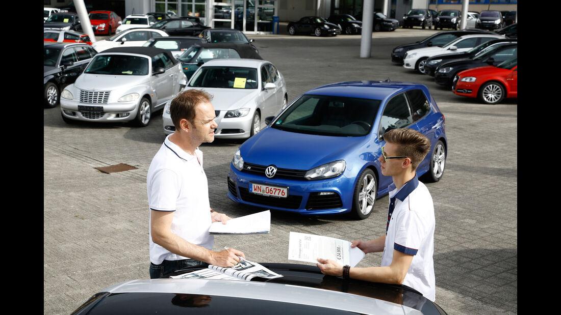 VW Golf R, Händler