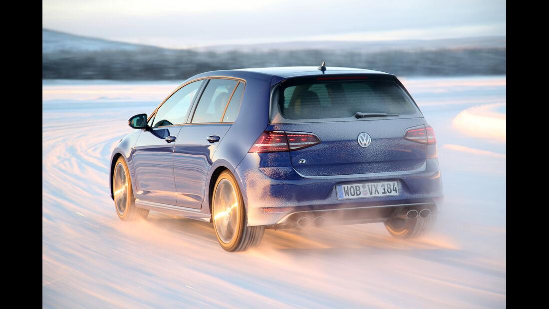 VW Golf R, Heckansicht