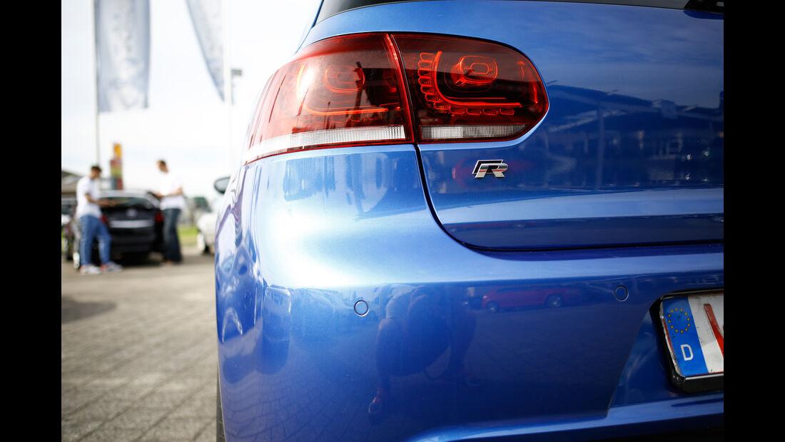 VW Golf R, Heckleuchte