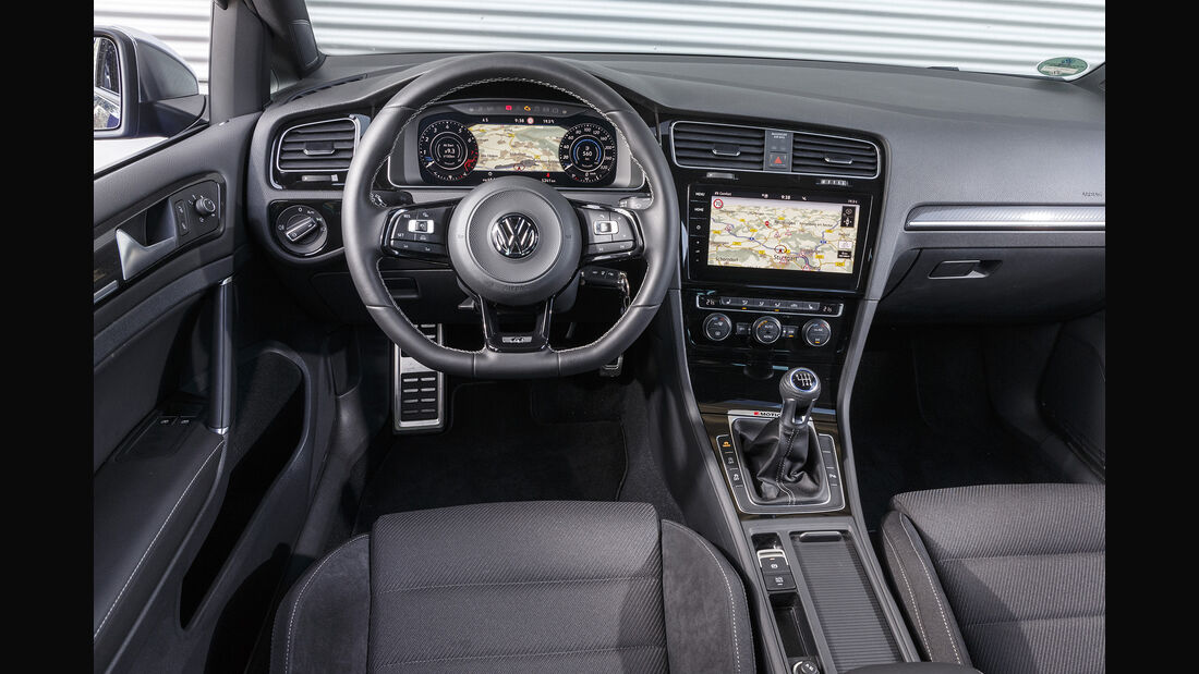 VW Golf R, Interieur